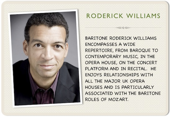 Roderick Williams full face portrait