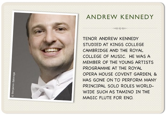 Andrew Kennedy with a wide smile and a bow-tie.